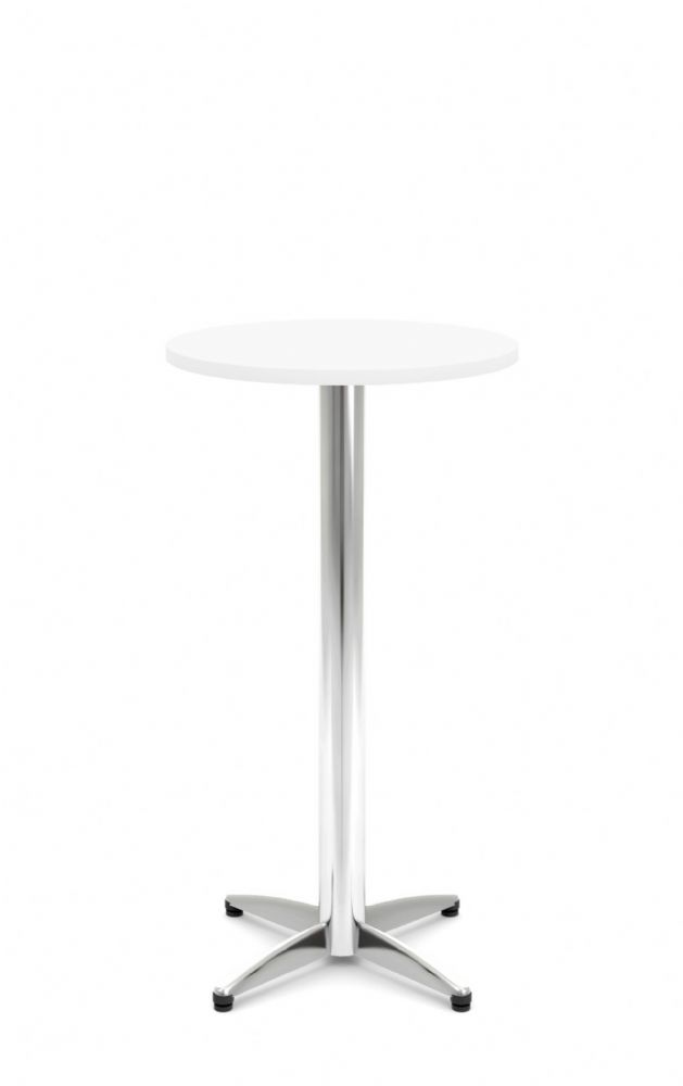 Pledge Unify High Round Wooden Top Bistro Table 600mm